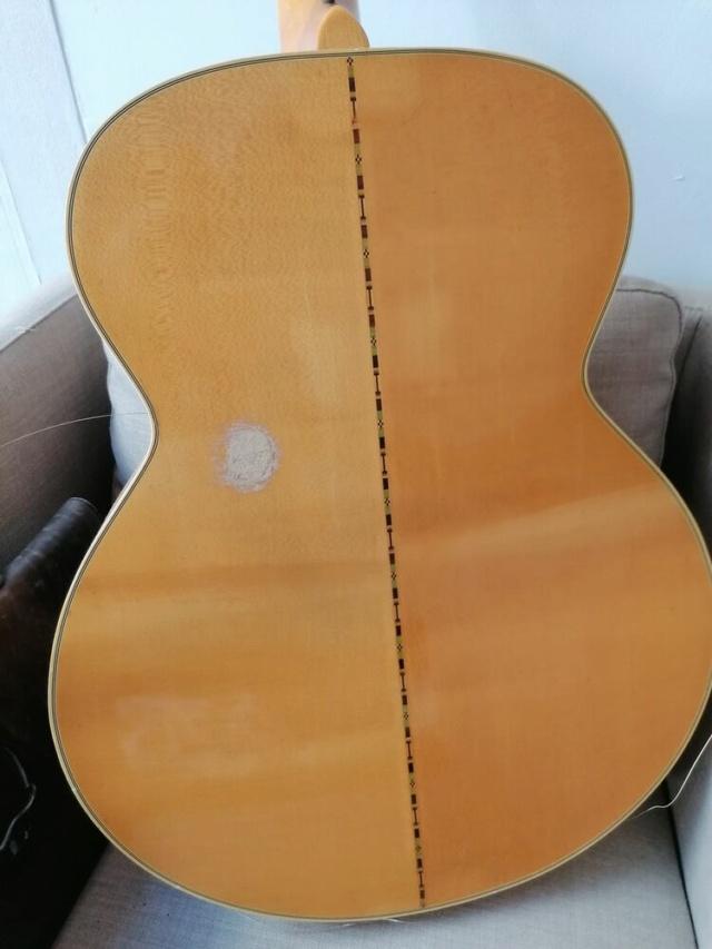 reparation dos J200 artist Gibson11