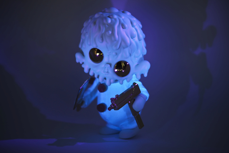 Ⓚ PURE OOZE - psychotic glow harlequin  1210