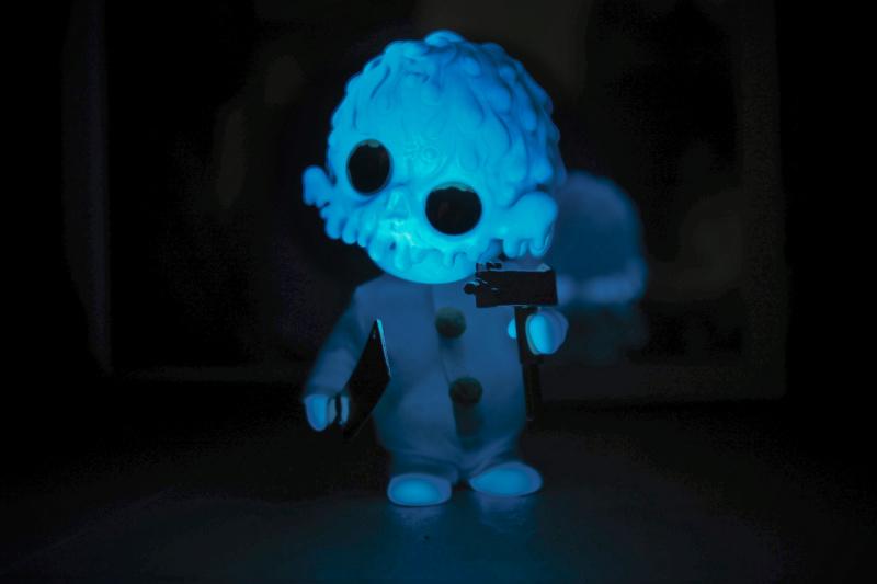 Ⓚ PURE OOZE - psychotic glow harlequin  1310