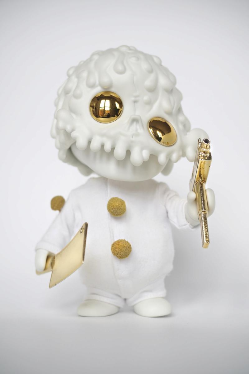 Ⓚ PURE OOZE - psychotic glow harlequin  610