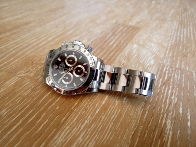 Vends - [Vends] Rolex Daytona 116520 Chromaligth 2014  310