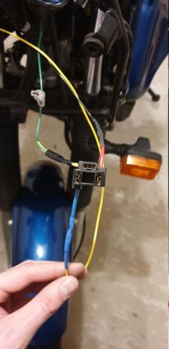 Modification de l'éclairage sur la double optique 20191217