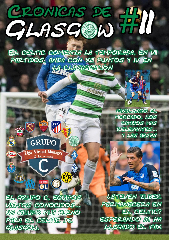 Cronicas de Glasgow, tu revista deportiva 210