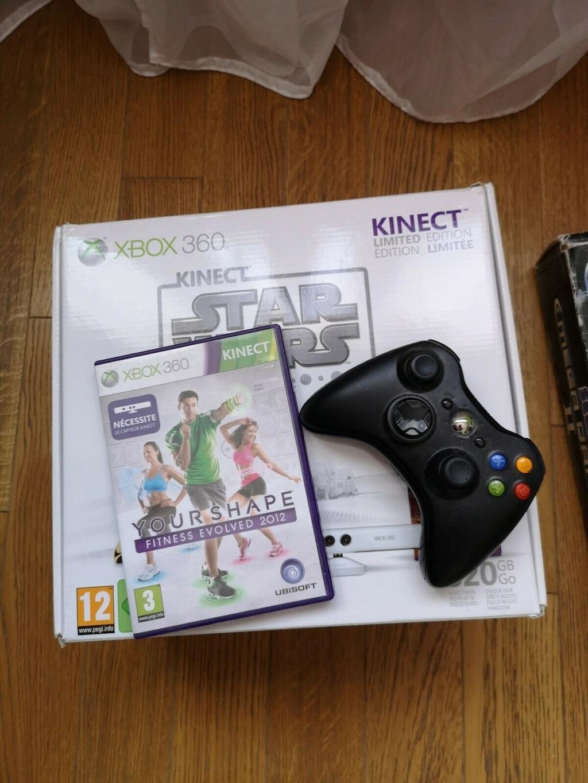 [VDS] Xbox 360 édition limitée Star Wars + Jeux Xbox310