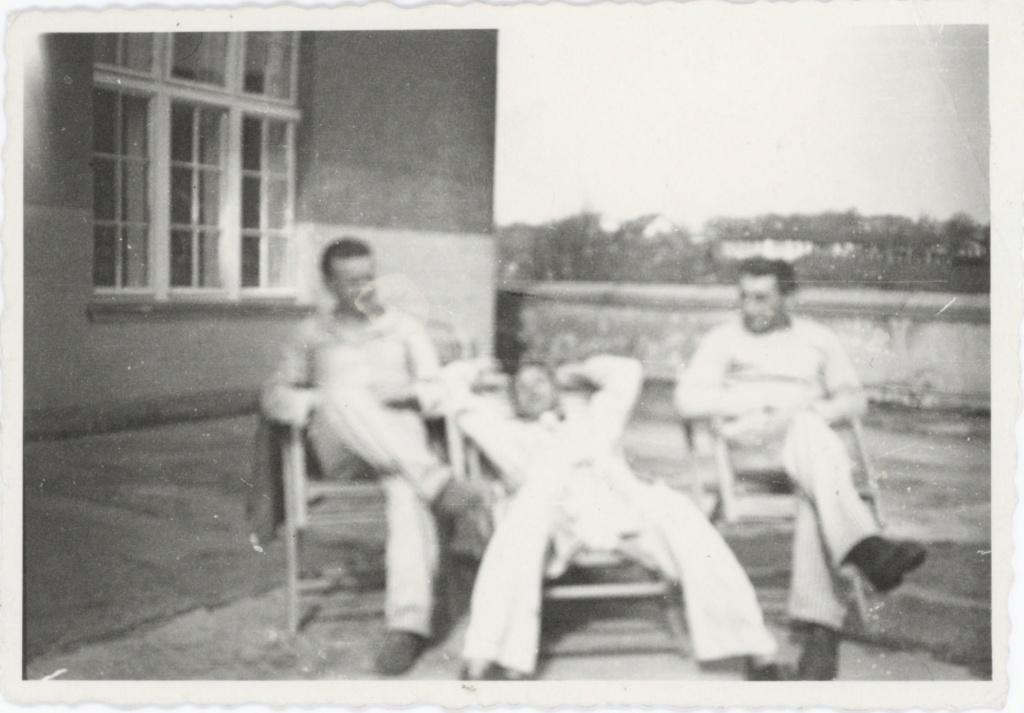 Soldats 2ème DB hospitalisés traumatisés ? 1944_112