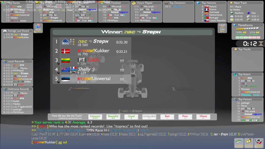 Kukker vs. Steph Screen12