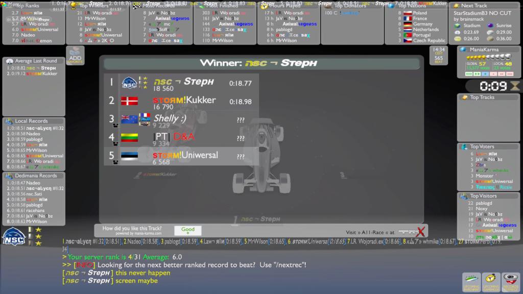 Kukker vs. Steph Screen13