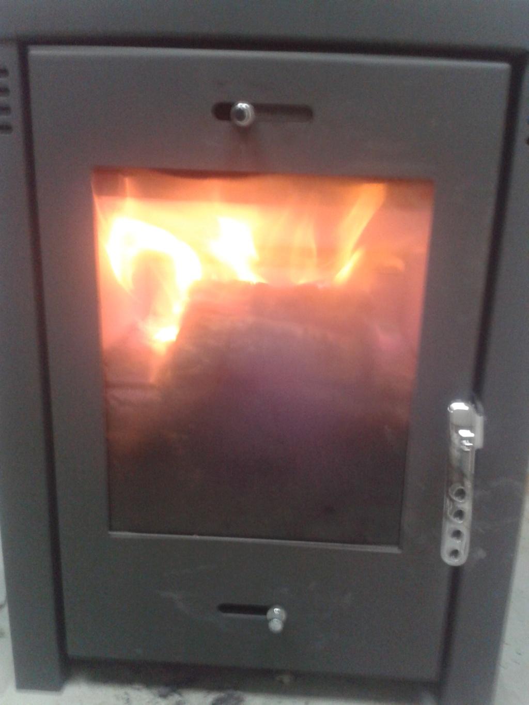 Clarke glass-door box stove to rocket stove 20181010