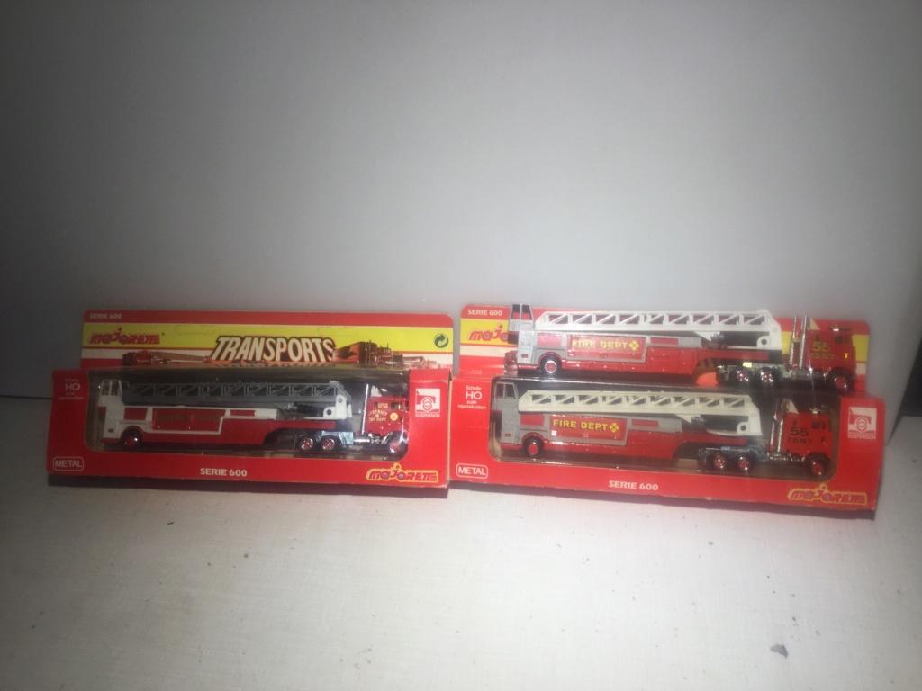 N°612 FORD CL9000 + SEMI POMPIERS GRANDE ÉCHELLE  9c18dc10