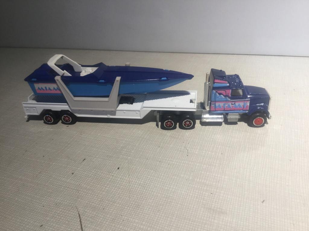 N°613 White + Semi Transport Hors Bord   B4026d10