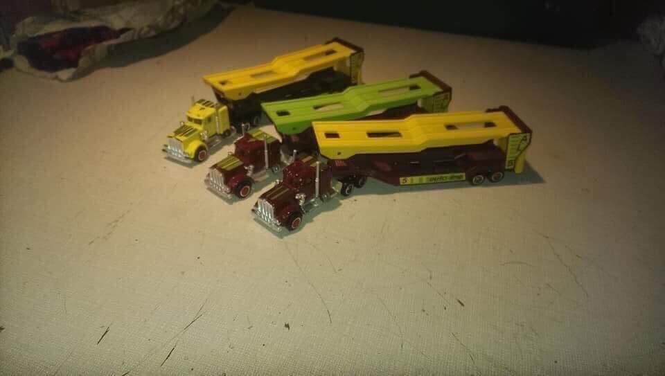 N°609 Kenworth + Semi Porte Autos  E404c110