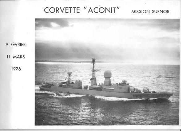 L'ACONIT (FREGATE D609) - Page 21 Aconit10