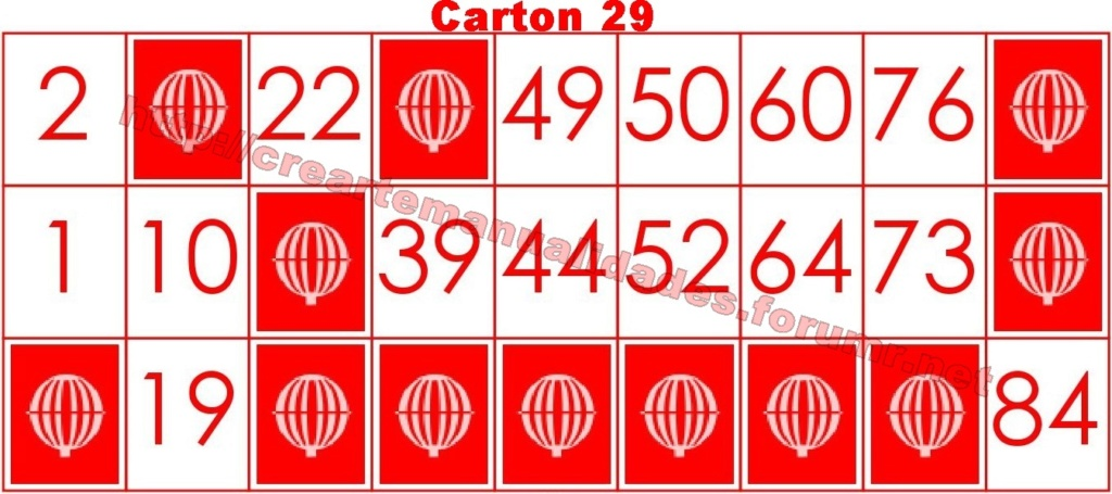 CrearteBingo 2911