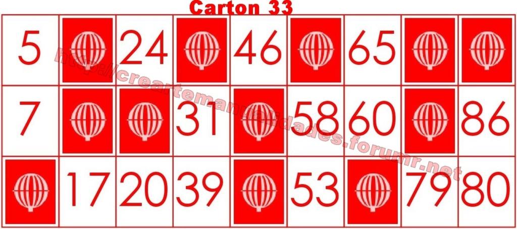 CrearteBingo 3311