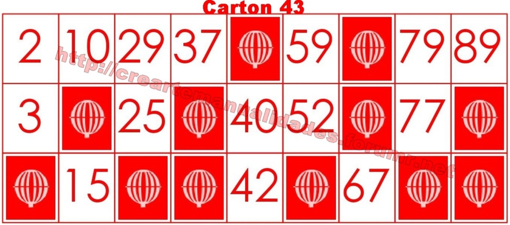 CrearteBingo 4310