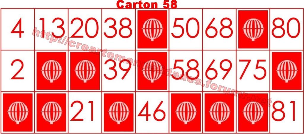 CrearteBingo 5810