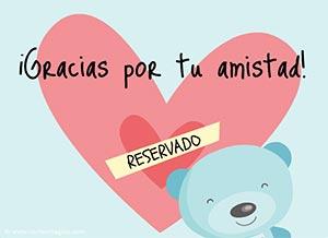 Tarjetas Dia del amigo Amista10