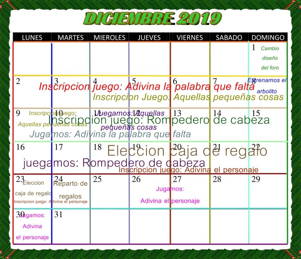 Comienza nuestro festejo de Diciembre!!! Calend13