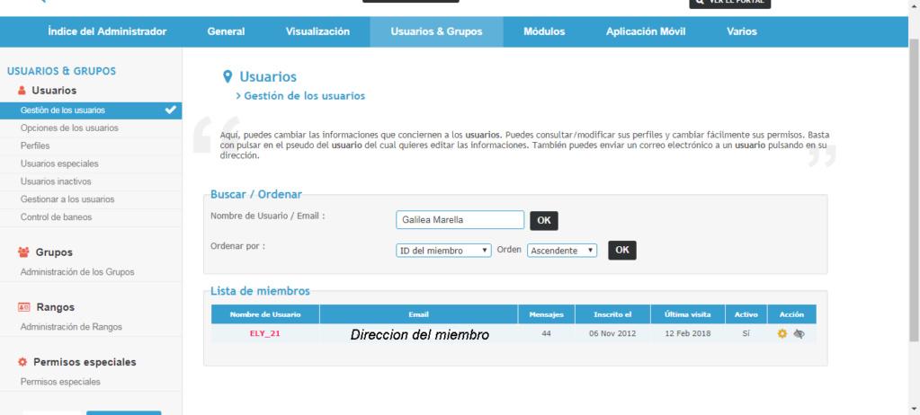Direcciones de correo electronico de los miembros, no se pueden copiar Captur33