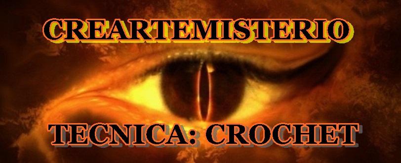 """CREARTEMISTERIO: """"TECNICA: """"CROCHET"""". Detalles, inscripcion y presentacion de la tarea  Croche11"""
