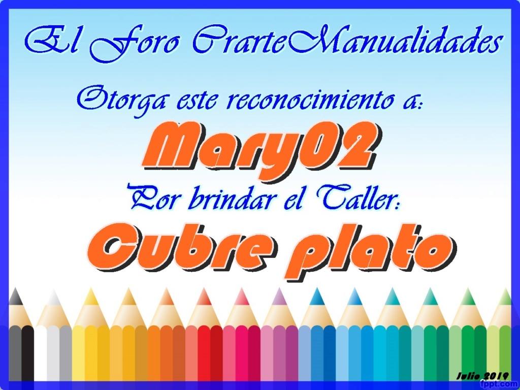 Nuestro agradecimiento a Mary02  CrearteEva Profesora   - Página 3 Recono14