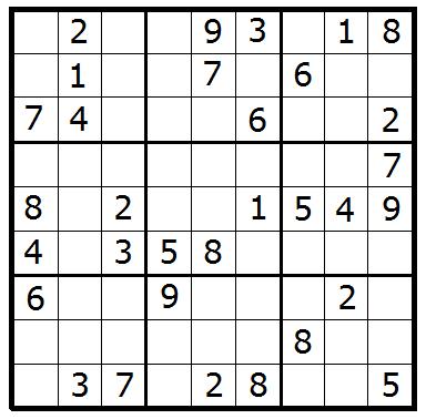 Jugamos!!! Rompedero de cabeza II.  Sudoku10