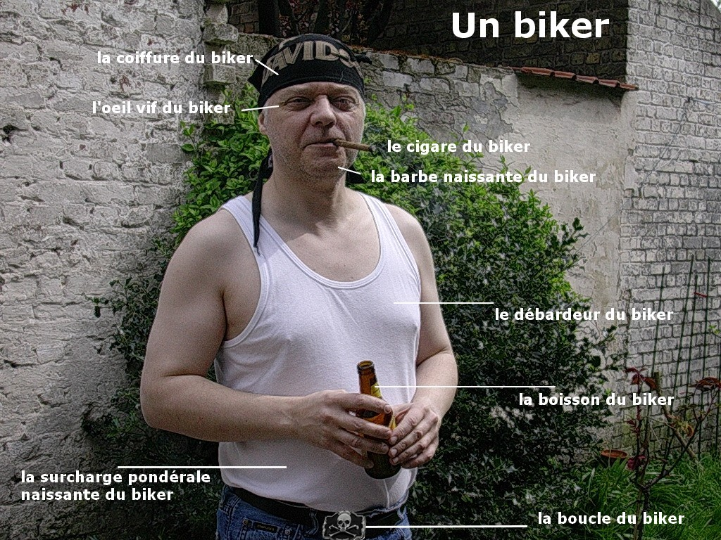 un KAWA en TERRASSE - Bikers ou motards sur vos customs? Biker11