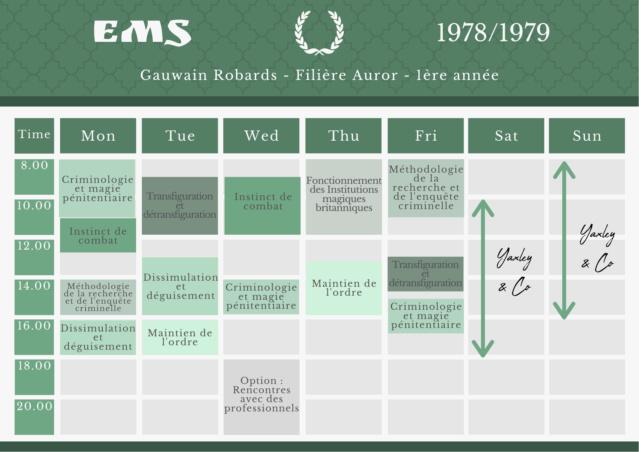Archives du Ministère de la Magie - Annexe au dossier n°27R491 - ROBARDS, Gauwain Emploi10
