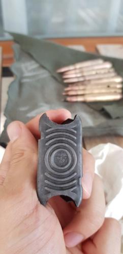 Clip M1 Garand et cartouches 20190811
