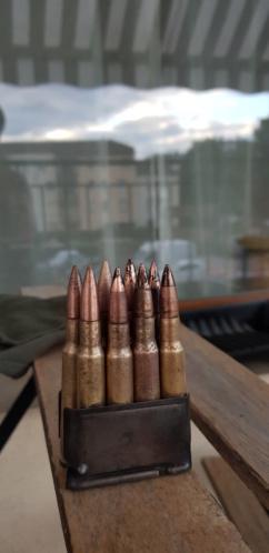 Clip M1 Garand et cartouches 20190813