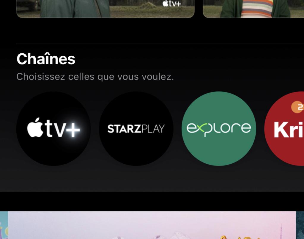 Une nouvelle chaîne de documentaires sur Apple TV.  3d603c10