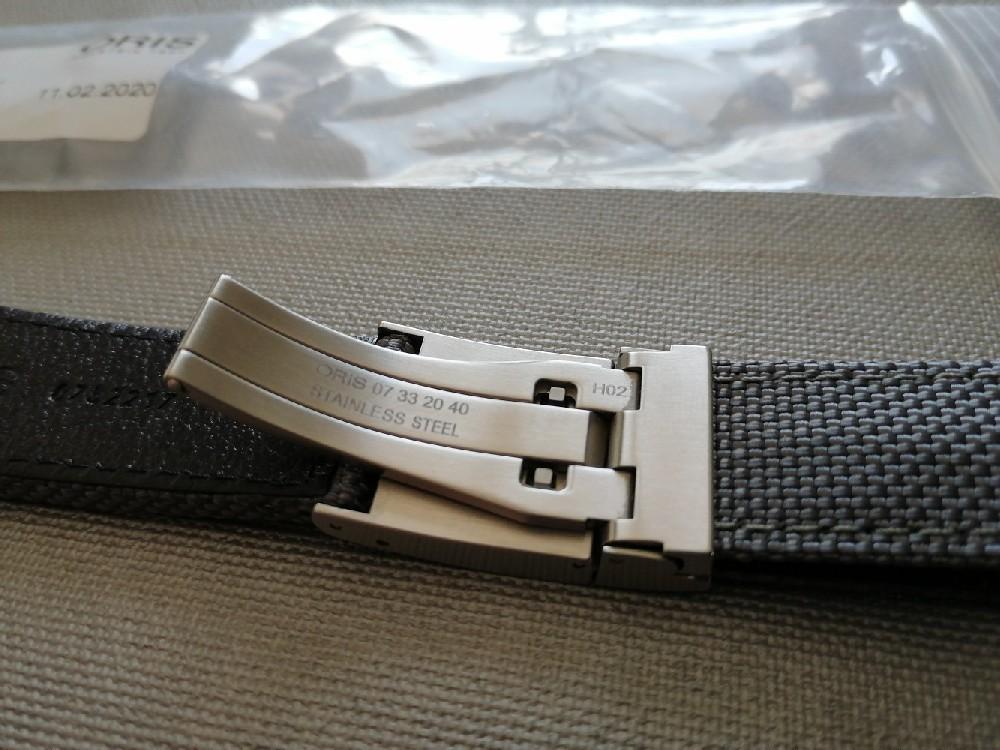 [Baisse de prix][Vends] bracelet Oris Propilot 22mm Image410