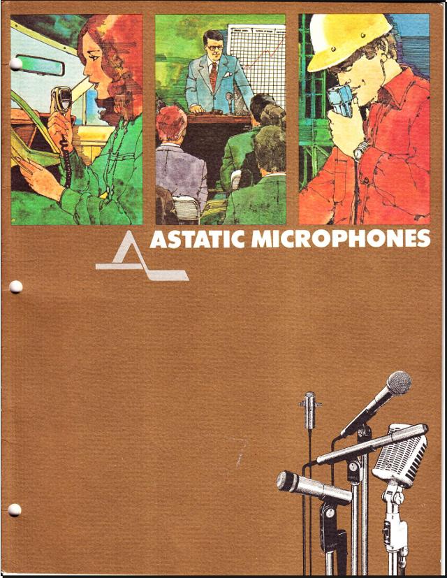 Astatic Microphones (Catalogue) 0011