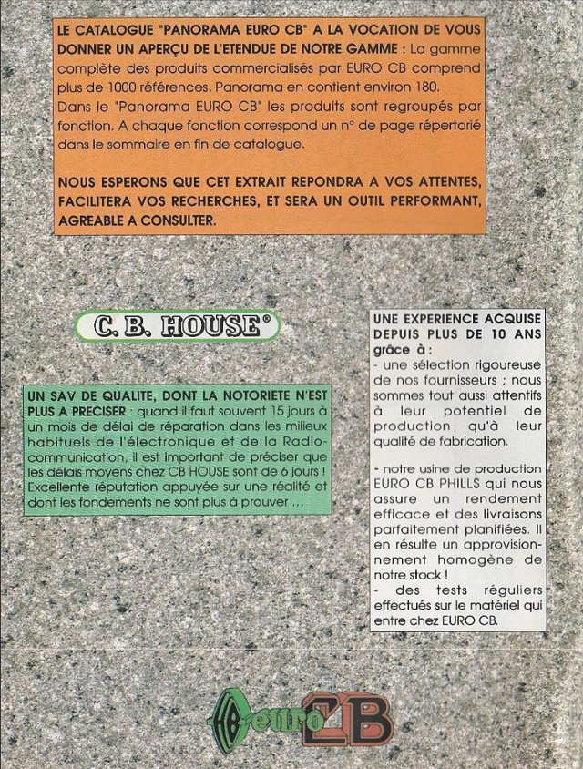 EuroCB Panorama (Catalogue (Fr.) 00222