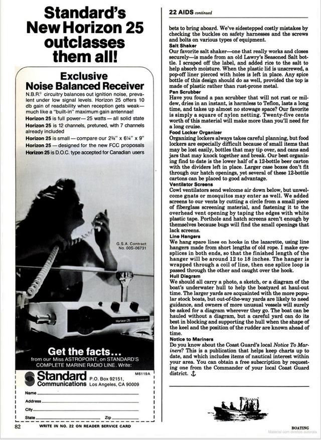 Boating (Revue maritime (USA) 014910
