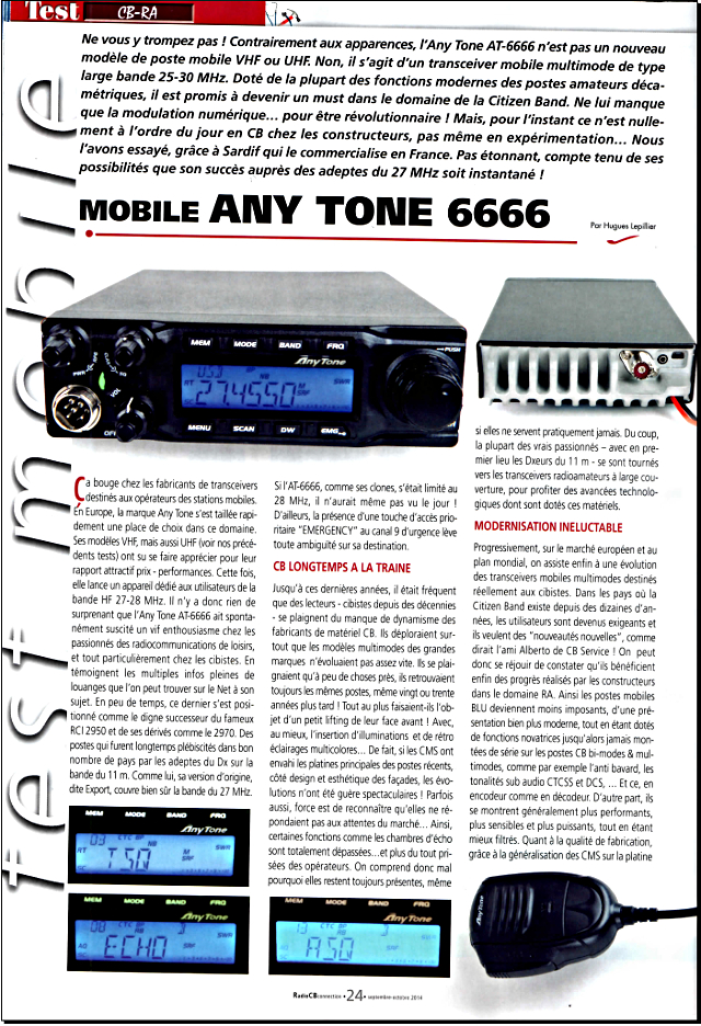Anytone AT-6666 (Mobile) 0169