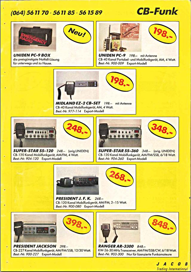 Swiss-CB Angebote Jacob (Catalogue (Suisse) 105_ca10