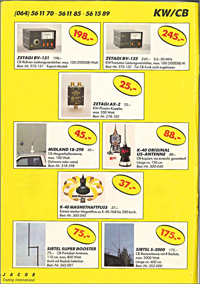 Swiss-CB Angebote Jacob (Catalogue (Suisse) 108_ca10