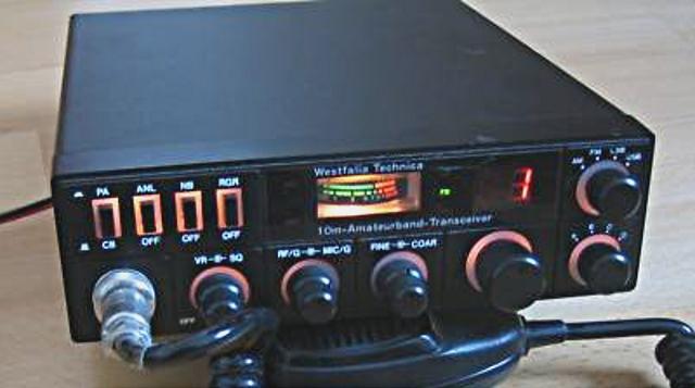 Westfalia Technica 10m-Amateur-Band-Transceiver (Mobile) 10m_tr10