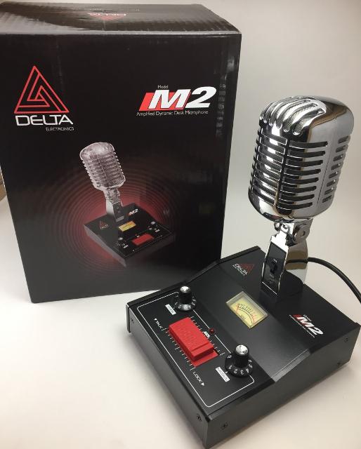Delta M2 Chrome & Gold (Micro de table) 11307_10