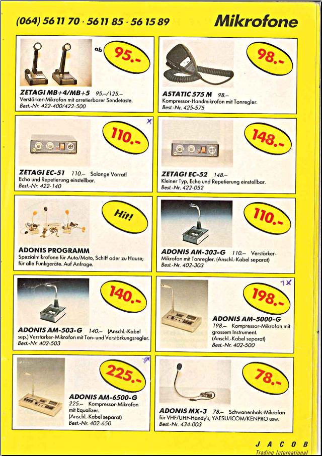 Swiss-CB Angebote Jacob (Catalogue (Suisse) 113_ca10