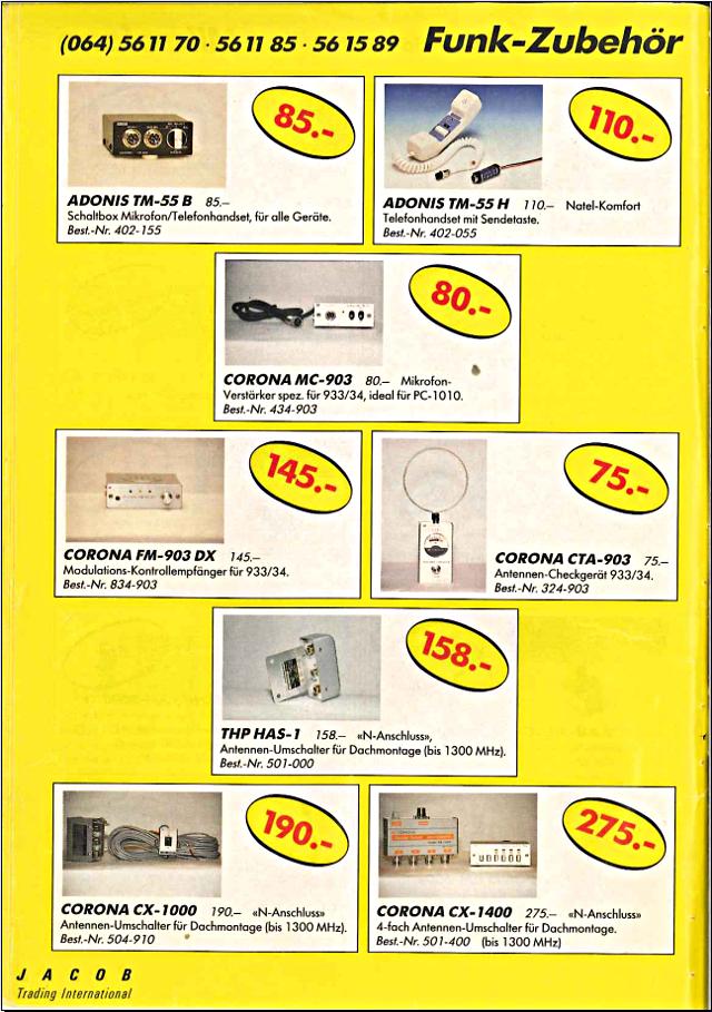 Swiss-CB Angebote Jacob (Catalogue (Suisse) 114_ca10