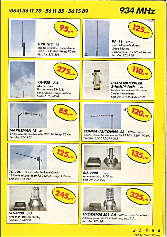 Swiss-CB Angebote Jacob (Catalogue (Suisse) 117_ca10