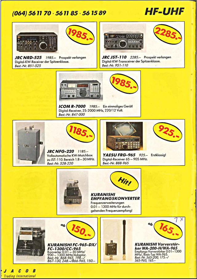 Swiss-CB Angebote Jacob (Catalogue (Suisse) 118_ca10
