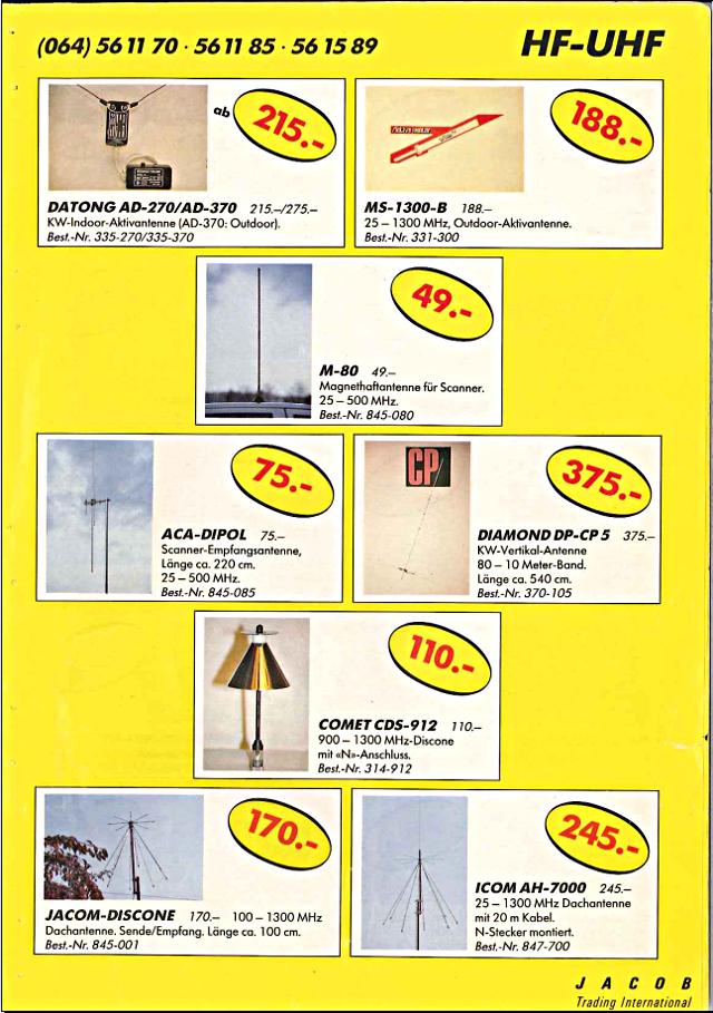 Swiss-CB Angebote Jacob (Catalogue (Suisse) 121_ca10