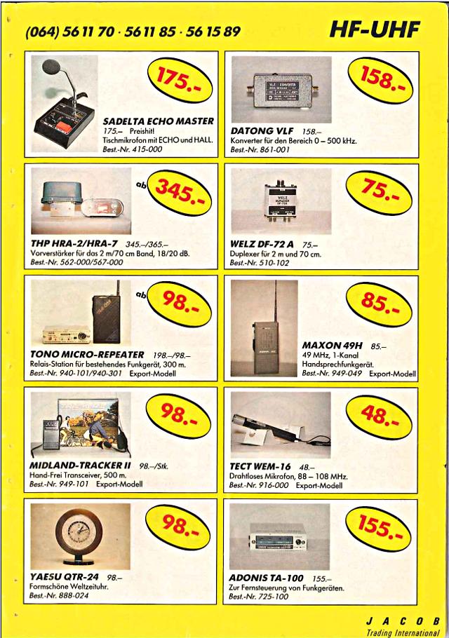 Swiss-CB Angebote Jacob (Catalogue (Suisse) 123_ca10