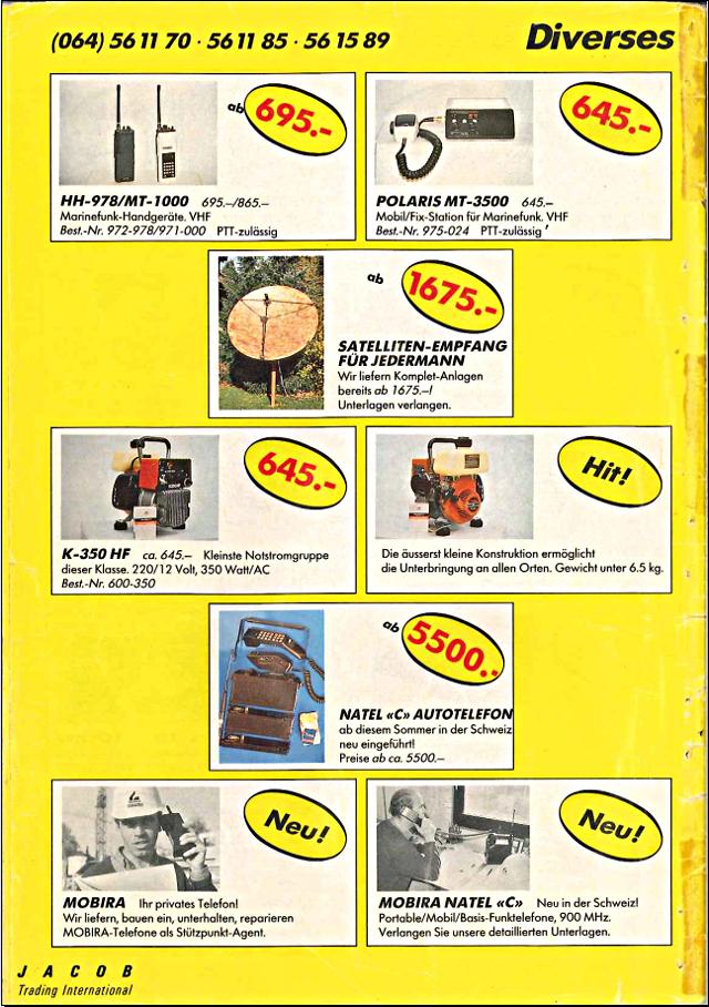 Swiss-CB Angebote Jacob (Catalogue (Suisse) 126_ca10