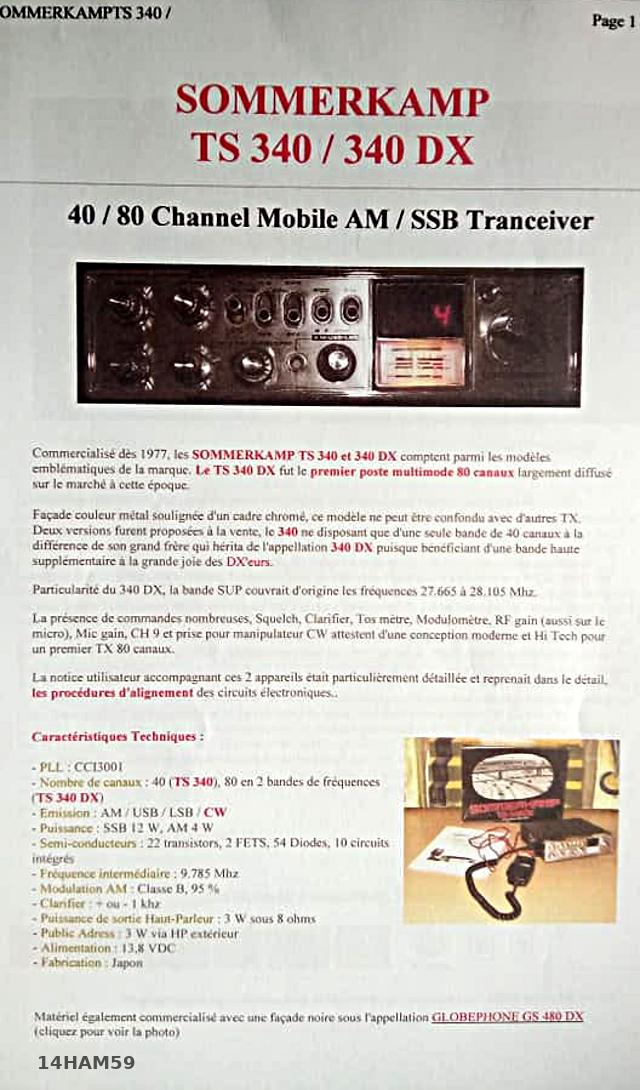 Sommerkamp TS-340 (Mobile) 14ham511