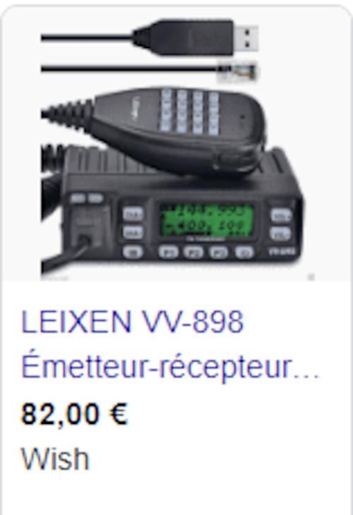 ERCI / TCMI de Mulhouse: Vend poste LEIXEN VV 898 bi-bandes 17454111