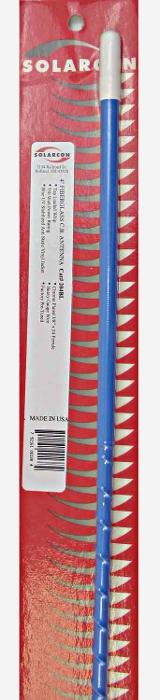 """Solarcom Antron 48"""" Top Load Fiberglass (Bleu) 204-bl10"""